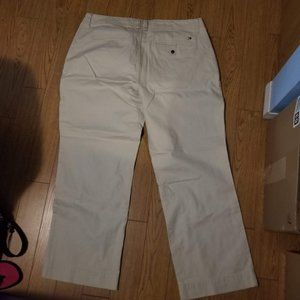 Plus size 20 Tommy Hilfiger Cream Cotton Pants